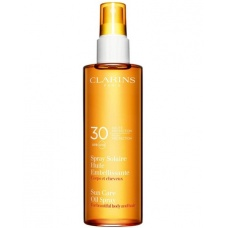 Clarins Solaire Spray Huile Embelissante Spf 30  UvB UvA