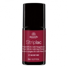 Alessandro Striplac 127 Secret Red Led Nagellak