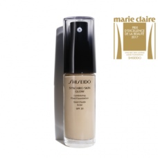 Shiseido Synchro Skin Glow Luminizing Fluid Foundation 002 Neutral
